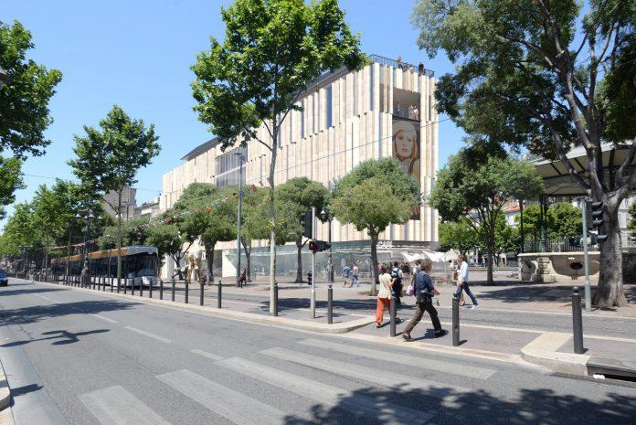 Les images du futur cinéma Artplexe à la place de la mairie sur la Canebière