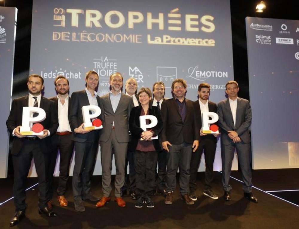 Trophées de l'économie de La Provence à Marseille : découvrez le palmarès complet et les interviews des lauréats en vidéo