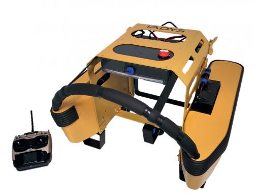 Une méduse robotique pour nettoyer le Vieux-Port