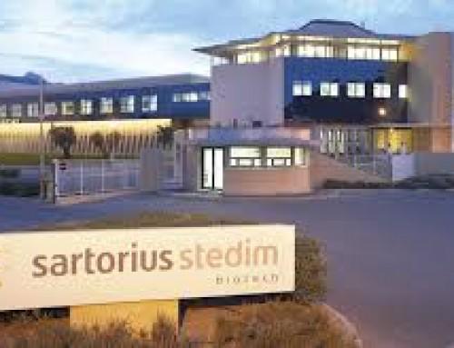 Nouvel investissement de l'entreprise allemande Sartorius Stedim Biotech en Provence