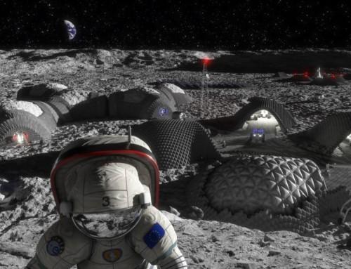 La planète Mars part à la conquête de la Lune