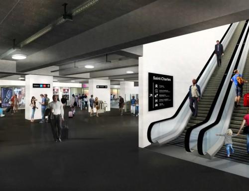 Le nouveau métro automatique de Marseille se dévoile en images