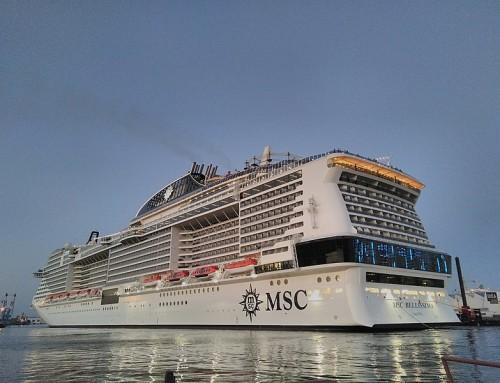 MSC Bellissima : Marseille accueille un nouveau paquebot en tête de ligne