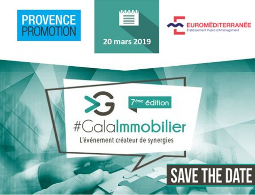 Provence Promotion & Euroméditerranée au Gala de l'immobilier à Paris