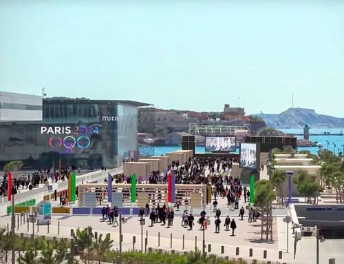 Pour les JO 2024, Marseille veut créer une zone piétonne du J1 au Mucem