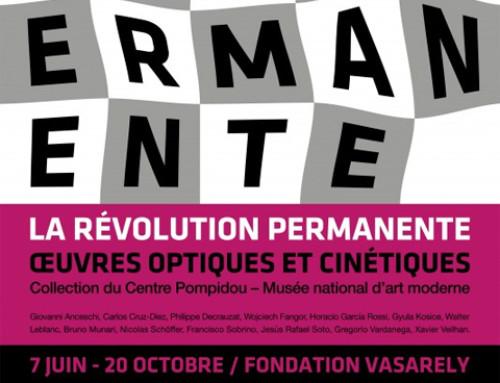 [Exposition] La révolution permanente, premiers prêts de Pompidou à Vasarely