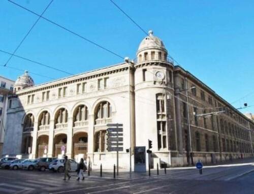 À Marseille, l'emblématique Poste Colbert fait peau neuve